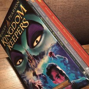 Kingdom Keepers Book Set